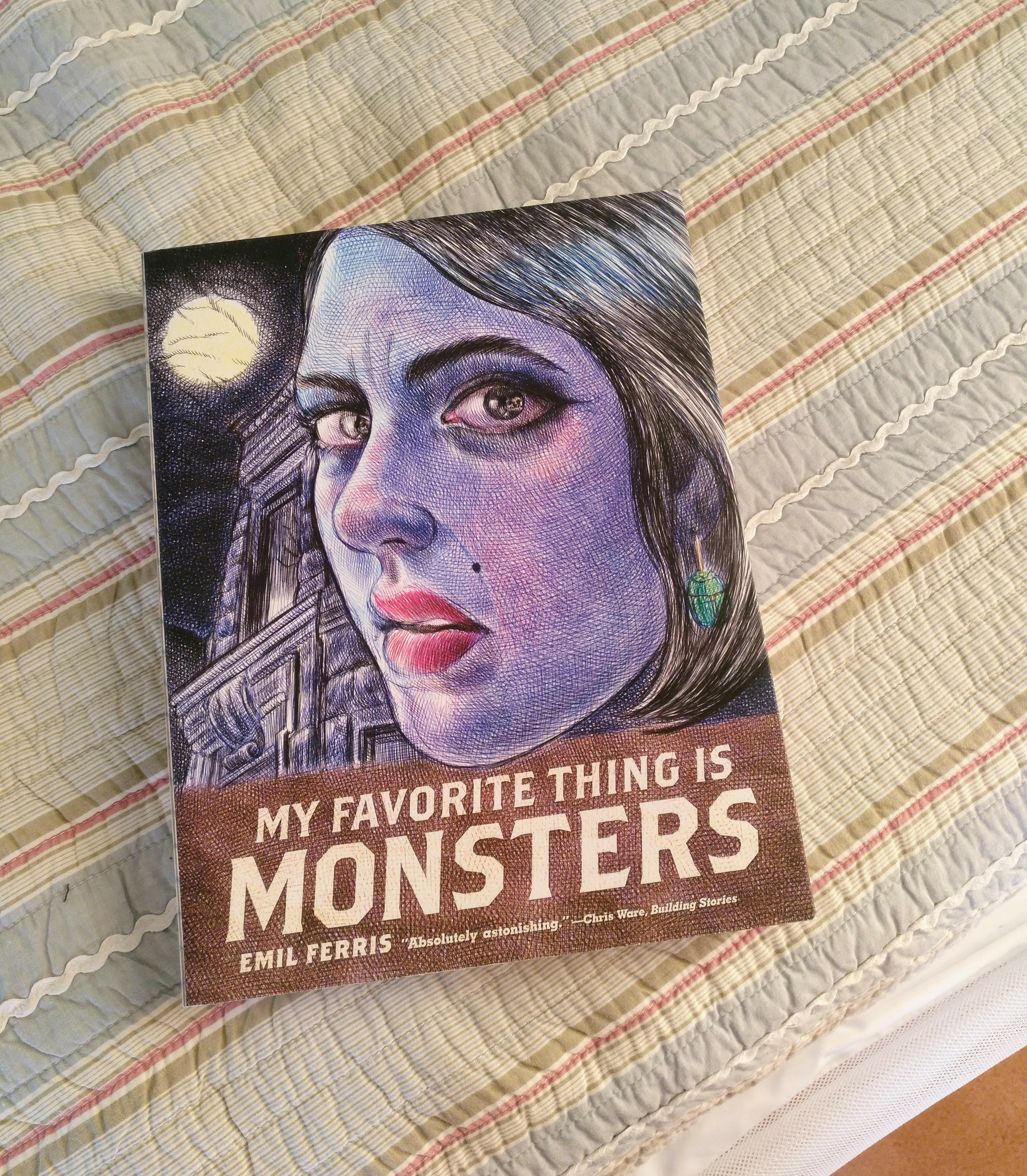 My Favourite Thing Is Monster book